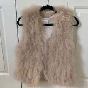 Club Monaco Feather Vest